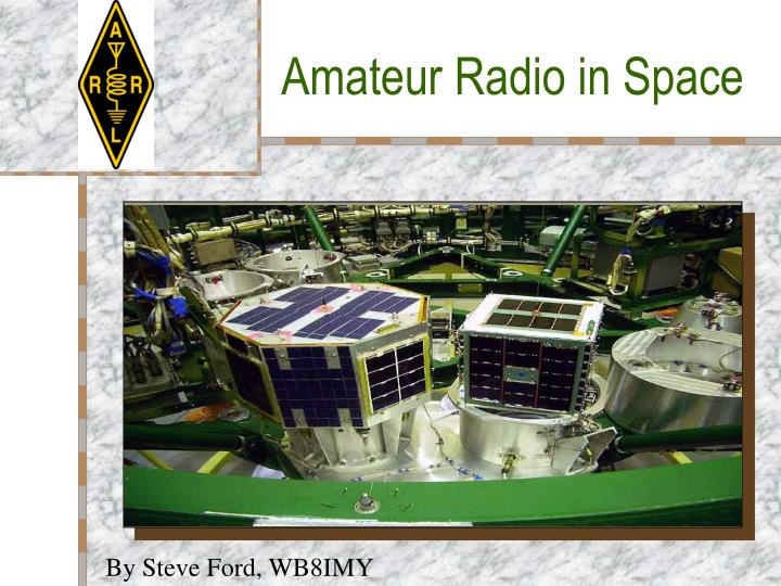 amateur radio in space n.