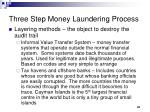 three step money laundering process5