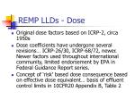 remp llds dose