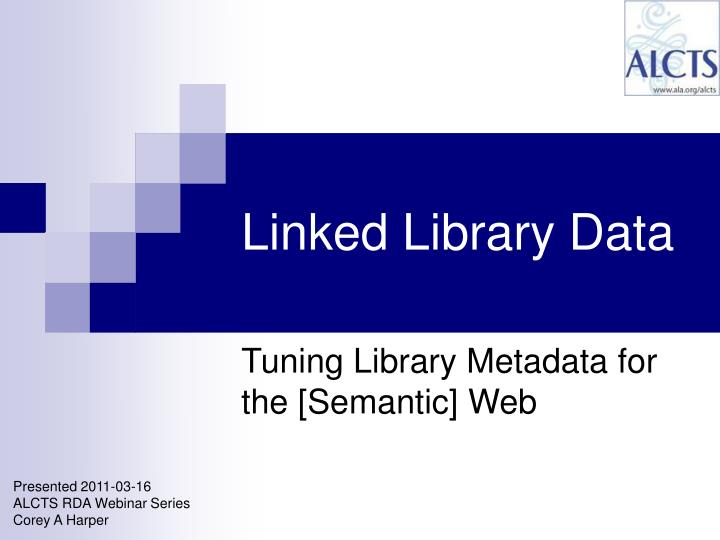 linked library data n.