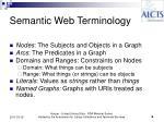 semantic web terminology1