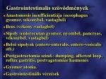 gastrointestinalis sz v dm nyek