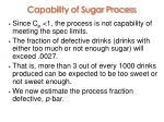 capability of sugar process1