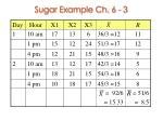 sugar example ch 6 3