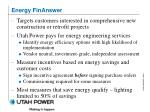 energy finanswer