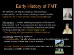 early history of fmt