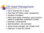 lsv asset management