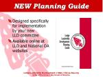 new planning guide