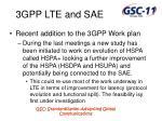3gpp lte and sae12