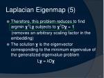 laplacian eigenmap 5