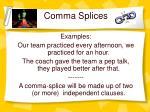comma splices1