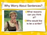 why worry about sentences1