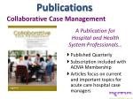 collaborative case management