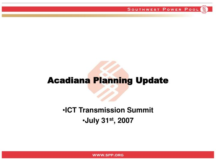 ict transmission summit july 31 st 2007 n.