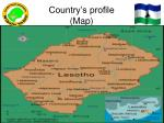 country s profile map