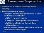 assessment preparation