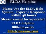 elda helpline1
