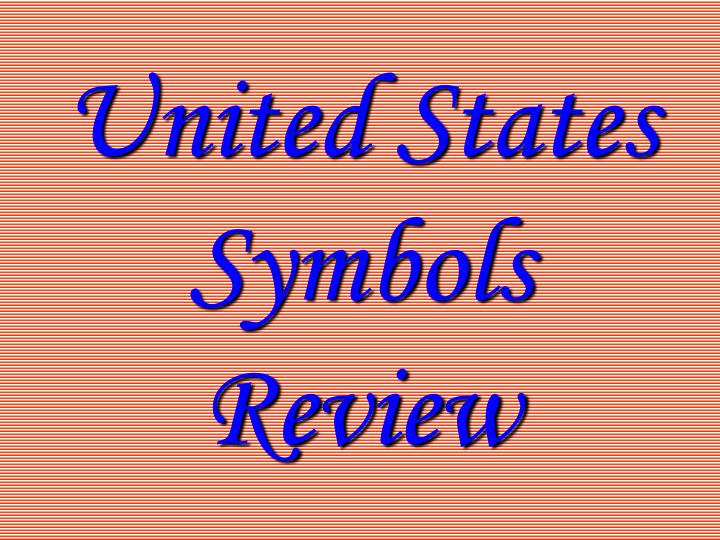 united states symbols review n.