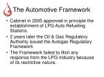 the automotive framework