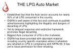 the lpg auto market