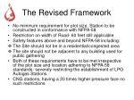 the revised framework