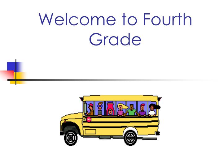 welcome to fourth grade n.