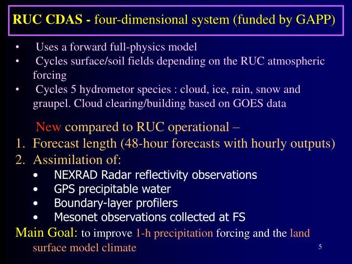 RUC CDAS -