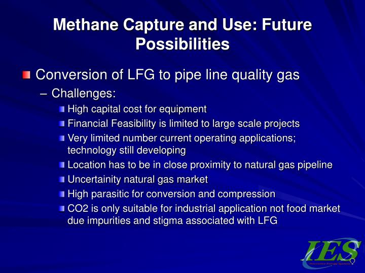 Methane Capture and Use: Future Possibilities
