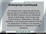 enterprise continued1