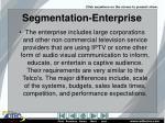segmentation enterprise