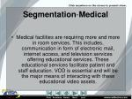 segmentation medical
