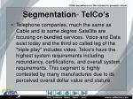 segmentation telco s