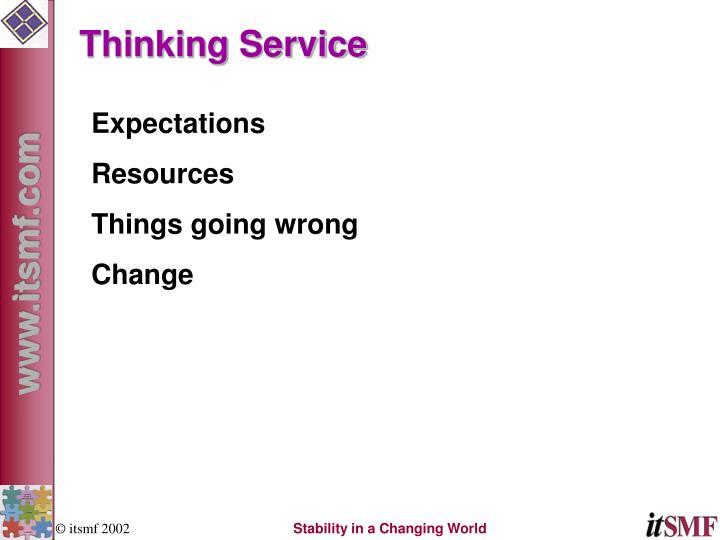 Thinking Service