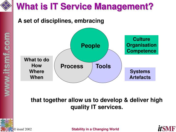 What is IT Service Management?