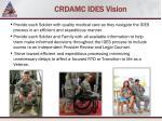 crdamc ides vision