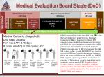 medical evaluation board stage dod