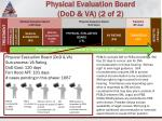 physical evaluation board dod va 2 of 2