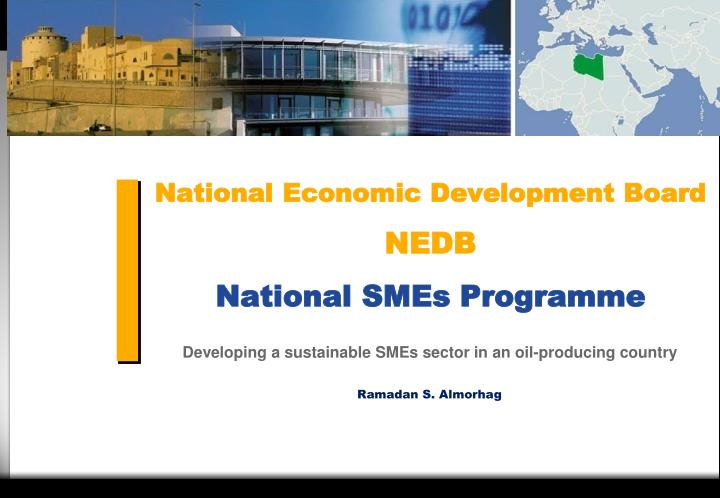 national economic development board nedb national smes programme n.