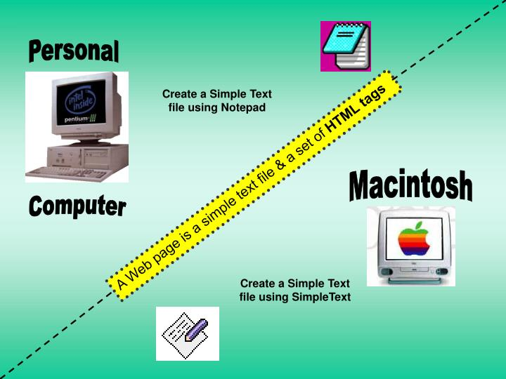 how to create a web page using notepad pdf