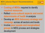 mdg lebanon report recommendations cont d3