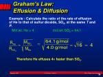 graham s law effusion diffusion1