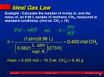 ideal gas law4