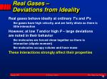 real gases deviations from ideality