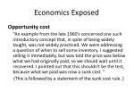 economics exposed