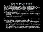 sound segmenting