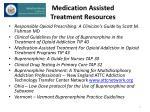 medication assisted treatment resources