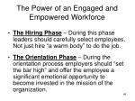 the power of an engaged and empowered workforce2
