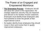 the power of an engaged and empowered workforce3