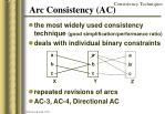 arc consistency ac