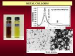 metal colloids